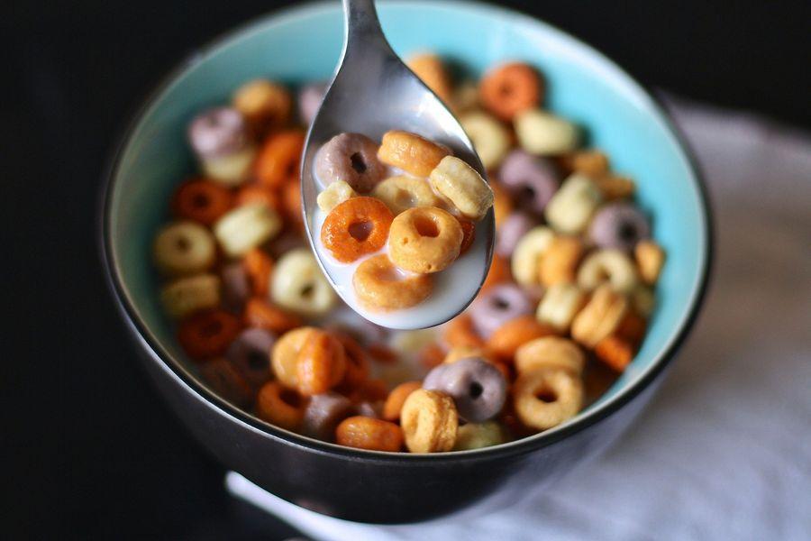 Sugared cereal